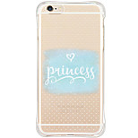 Shockproof Pattern Word Phrase TPU Soft Case Back Cover For iPhone 6s Plus 6 Plus iPhone 6s 6 iPhone SE 5s 5