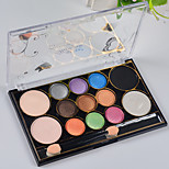 12 Eyeshadow Palette Matte Eyeshadow palette Powder Normal Daily Makeup