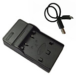 2L Micro USB Mobile Camera Battery Charger for Canon NB-2L EOS 350D 400D G7 G9 S80 MVX200i MVX330i