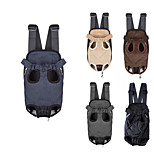 Cat / Dog Carrier & Travel Backpack / Front Backpack Pet Carrier Portable / Breathable / Soft Black / Blue / Brown / Gray / Beige Plush