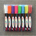 Hand Written Advertisement Board Fluorescent Pen(8PCS)
