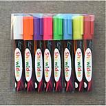 Hand Written Advertisement Board Fluorescent Pen(8PCS)