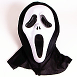 Halloween Masks Ghost Scary Scream Holiday Supplies Halloween / Masquerade 1PCS 2 Color Selected