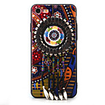 For iPhone 7 Case / iPhone 7 Plus Case / iPhone 6 Case Rhinestone / Pattern Case Back Cover Case Cartoon Hard PC AppleiPhone 7 Plus /