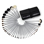 40 Makeup Brushes Goat Hair Professional / Portable Wood Face/Eye / Lip