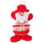 Santa Claus Linen Pendant