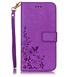 Embossed Leather Card Holder Stent PU Material For iPhone 7 7 Plus