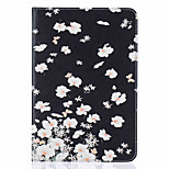 With Stand  Flip Flower Pattern Case Full Body Case  Hard PU Leather for  iPad Mini 4 iPad Mini 3 2 1
