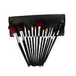 13 Makeup Brushes Set Goat Hair Portable Wood Face G.R.C  / Send Package