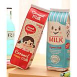 Milk Carton Design Textile Pen Bag