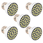 YWXLight 5Pcs High Bright 7W E26/E27 LED Spotlight 32 SMD 5733 500-700 lm Warm White / Cool White AC 110V/ AC 220V