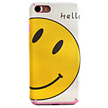 Smiling Face Pattern TPU Silk Material Pattern of Paste Skin Phone Case For iPhone 7 7 Plus