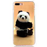 For iPhone 7 Plus 7 6s Plus 6 Plus 6S 6 TPU Material  IMD Process Panda Pattern Phone Soft Shell