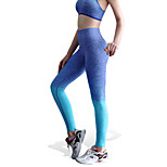 Women's Sexy Quick Dry Tights Compression Long Sports Pants Fitness Running Leggings M/L
