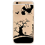 For iPhone 7 Case / iPhone 6 Case / iPhone 5 Case Ultra-thin / Pattern Case Back Cover Case Cartoon Soft TPU AppleiPhone 7 Plus / iPhone