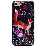 Para Estampada Capinha Capa Traseira Capinha Animal Macia TPU AppleiPhone 7 Plus / iPhone 7 / iPhone 6s Plus/6 Plus / iPhone 6s/6 /