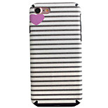 Love Stripes Pattern TPU Silk Material Pattern of Paste Skin Phone Case For iPhone 7 7 Plus