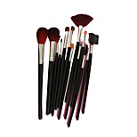 13 Makeup Brushes Set Goat Hair Portable Face NFSS  / Send Package