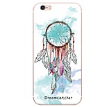 Dream Catcher Pattern TPU Ultra-thin Translucent Soft Back Cover for iPhone 7 Plus 7 6s Plus 6 Plus  6s 6 SE 5s 5