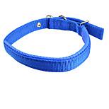 Perros Cuello Ajustable/Retractable Sólido Rojo / Azul Nilón