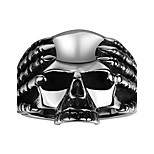 Ring Jewelry Steel Skull / Skeleton Fashion Silver Jewelry Daily Casual 1pc