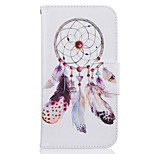 Wind Chimes Pattern Leather PU Leather Material Leather Phone Case for  Motorola Moto G4 Plus / MOTO G4