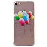 For iPhone 7 Case / iPhone 6 Case / iPhone 5 Case Ultra-thin / Pattern Case Back Cover Case Balloon Soft TPU AppleiPhone 7 Plus / iPhone
