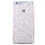 For HUAWEI P9 P8Lite Y5C Y6 Y625 Y635 5X 4X G8 Case Cover Half Flowers Pattern TPU Material Phone Shell