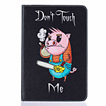 With Stand Flip Pig Pattern Case Full Body Case Hard PU Leather for iPad Mini 4 iPad Mini 3 2 1