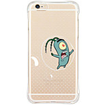 Para Funda iPhone 6 / Funda iPhone 6 Plus / Funda iPhone 5 Antigolpes / Transparente / Diseños Funda Cubierta Trasera Funda Dibujos Suave
