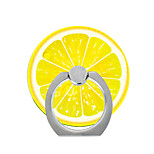 Phone Holder Stand Mount Desk / Outdoor Ring Holder / 360° Rotation Fruit Pattern for Mobile Phone