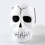 1PC Hallowmas   Portable Skeleton Ghost Head  Barrel Decorate  Hallowmas Costume  Party