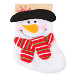 Textile Santa Claus Sock