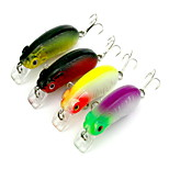 1 pcs Minnow Minnow Random Colors 9.8 g Ounce mm inch,Hard Plastic Bait Casting