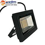zdm 60w 3518x288pcs 5800lm impermeável IP68 ultra fino luz ao ar livre elenco luz branco quente branco / frio (ac170-265v)