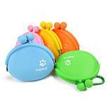 Cat Dog Bowls & Water Bottles Pet Bowls & Feeding Portable Orange Yellow Green Blue Blushing Pink