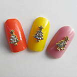 10 Nagel-Kunst-Dekoration Strassperlen Make-up kosmetische Nail Art Design