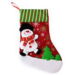 Flax Big Sock Snowman