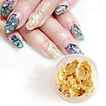 Four Color Combination Nail Tinsel Paper Ultra-thin Colour Gold Foil 4Pcs/Set