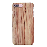 For Ultra-thin Case Back Cover Case Wood Grain Hard PC Apple iPhone 6s Plus/6 Plus / iPhone 6s/6 / iPhone SE/5s/5