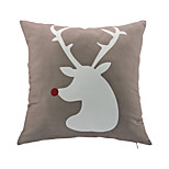 1 pcs Leather/suede Christmas Accent/Decorative Pillow With Insert 18x18 inch