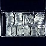 Nail A Piece Of Ks Super Clear Full Of False Nails Crystal False Nail Half 100 Pieces Of Post Nail Box