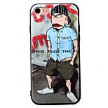 Für iPhone 7 Hülle / iPhone 7 Plus Hülle / iPhone 6 Hülle Geprägt / Muster Hülle Rückseitenabdeckung Hülle Zeichentrick Weich TPU Apple