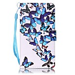 For Sony Case Card Holder / Wallet / with Stand / Pattern Case Full Body Case Butterfly Hard PU Leather for SonySony Xperia XA / Sony