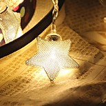 10-LED 1.5M Star Light Waterproof  Plug Outdoor Christmas Holiday Decoration Light LED String Light