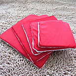 Cat / Dog Bed Pet Mats & Pads Soft Red / Blue / Brown / Pink / Purple Plush