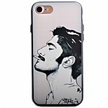 Man Portrait Pattern PC Plus TPU Material Phone Case For iPhone 7 7 Plus 6 6Plus