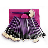 MSQ/Spirit's Silk Chloe Purple Rush 24 Professional Makeup Brush Set A Full Range Of Colour Makeup Brush Tool Set