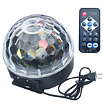 Jiawen Generic Disco Stage LED RGB Crystal Magic Effect Dot Light Ball