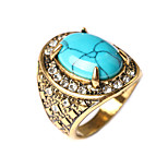 RingBand RingsJewelry Alloy / Gold Plated Fashionable / Bohemia Style Daily / Casual Gold 1pc8 / 9 / 8 / 9 Women / Men
